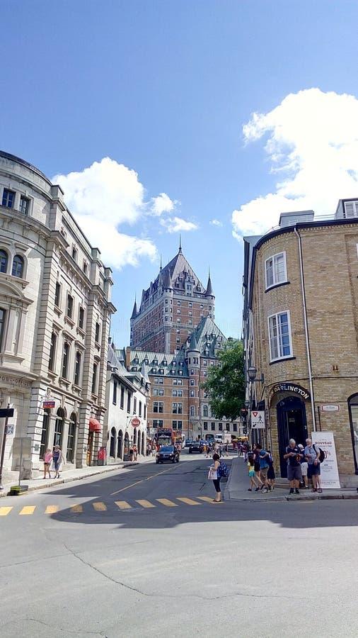 Quebec City velho imagem de stock