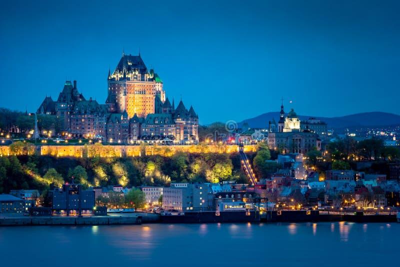 Quebec City velho fotos de stock