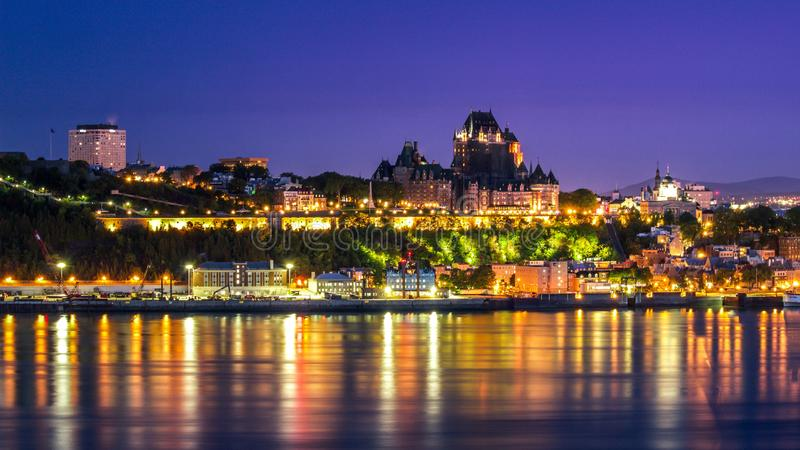 Quebec City royalty free stock photo