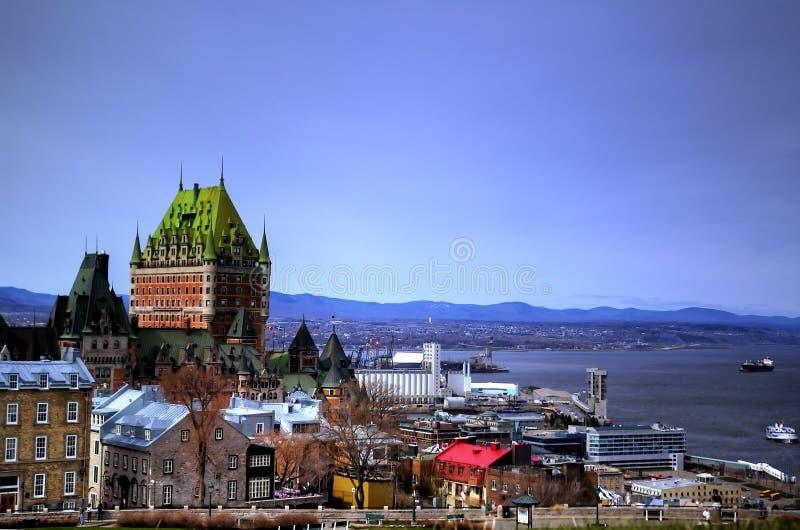 Quebec City viejo foto de archivo
