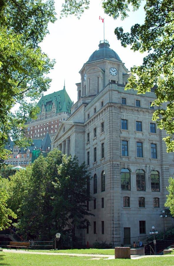 Quebec- Citypost 1 Lizenzfreie Stockfotos