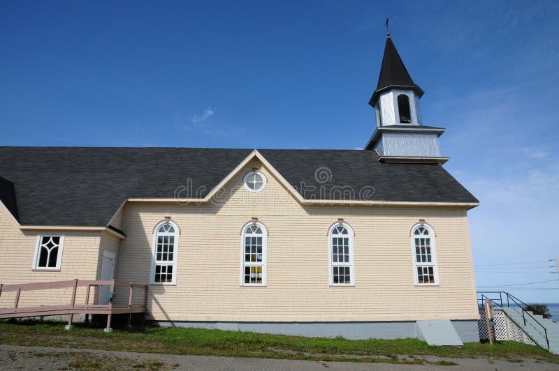 Quebec dziejowy kościół los angeles Martre fotografia stock