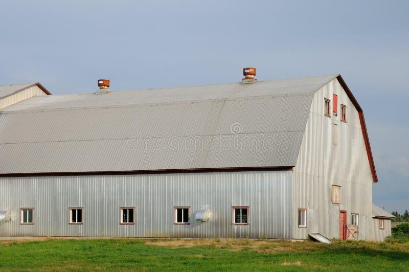 Quebec, gospodarstwo rolne w l wysepka fotografia stock