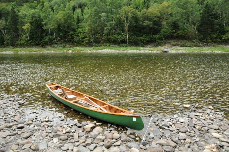Quebec, Matapedia rzeka w Gaspesie zdjęcia royalty free