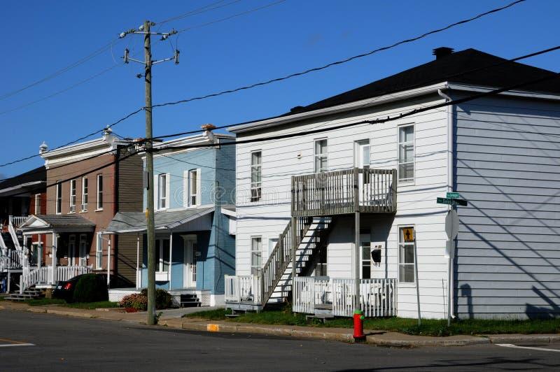 Quebec miasto Trois Rivieres w Mauricie obrazy stock