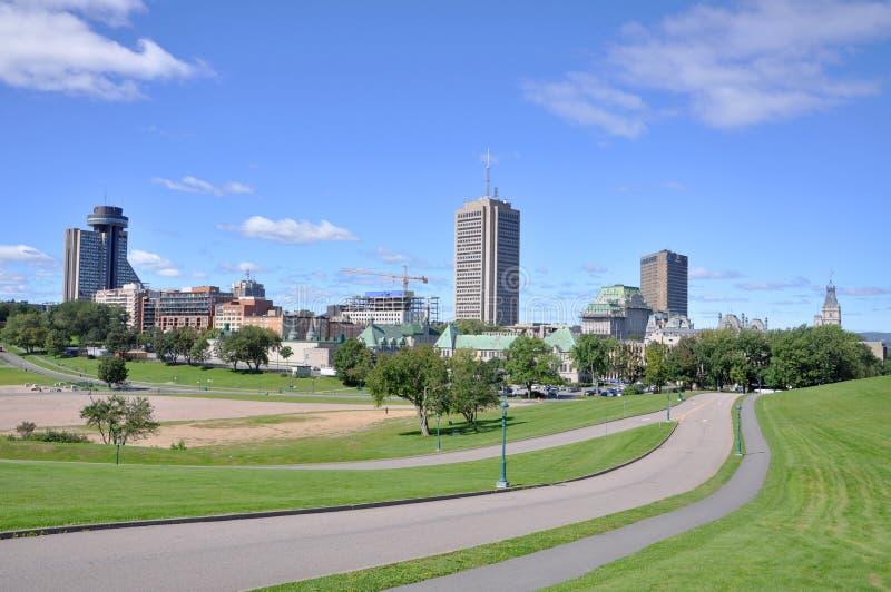 Quebec Modern City Skyline, Canada royalty free stock image