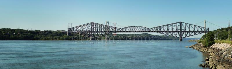 Quebec most zdjęcie stock