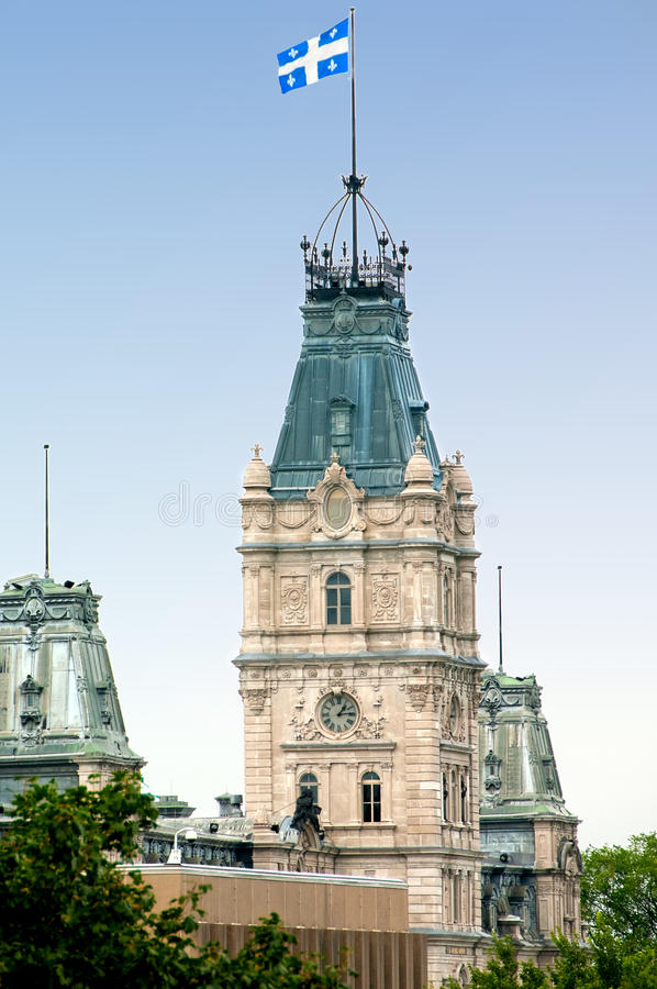Download Quebec parliament stock image. Image of copper, tower - 11103541