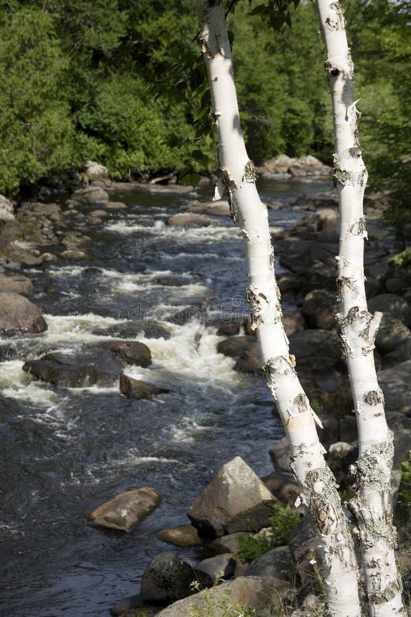 quebec rzeki zdjęcia stock