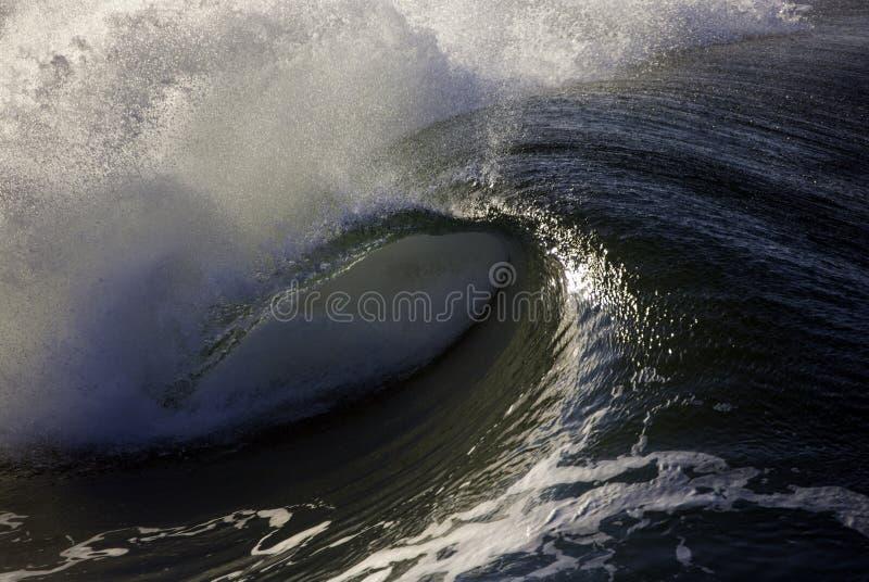 Quebra da onda fotos de stock
