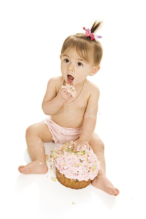 Quebra do bolo! imagens de stock royalty free