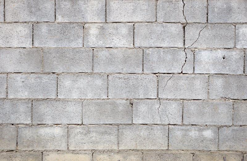 Quebra do muro de cimento fotografia de stock royalty free