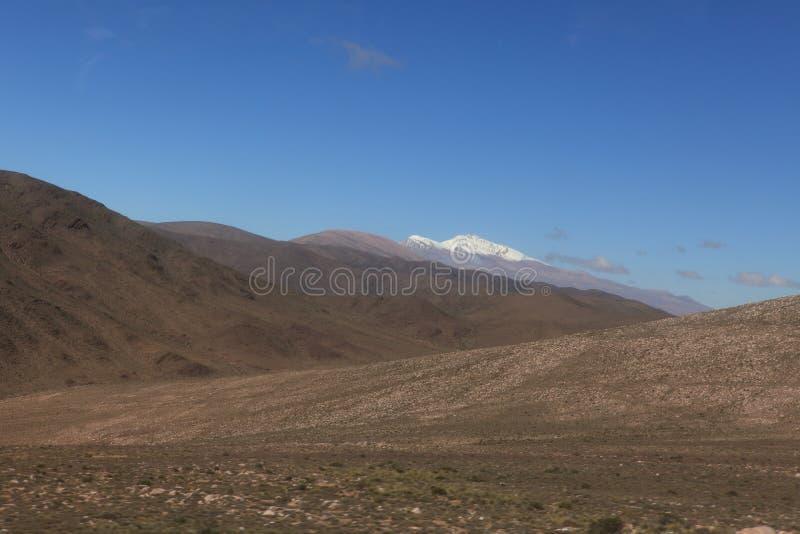 Quebrada Argentina arkivbilder