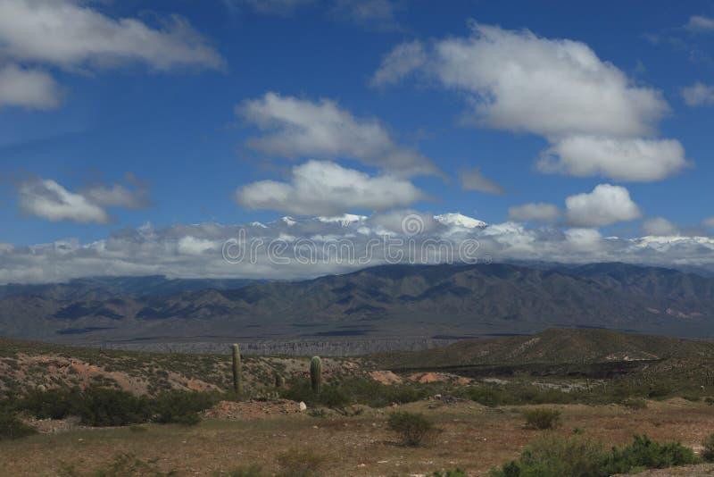 Quebrada Argentinië stock foto's