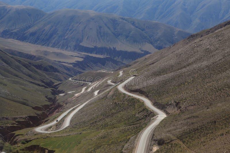 Quebrada Argentinië stock fotografie