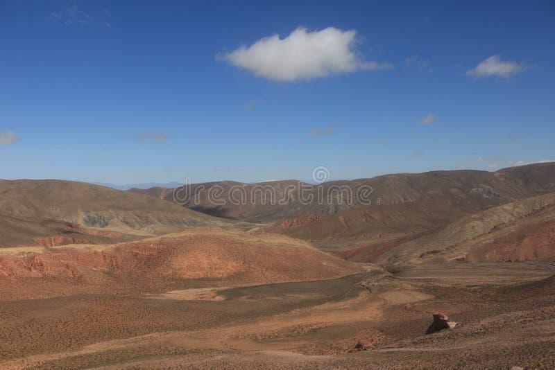 Quebrada Argentinië royalty-vrije stock foto's