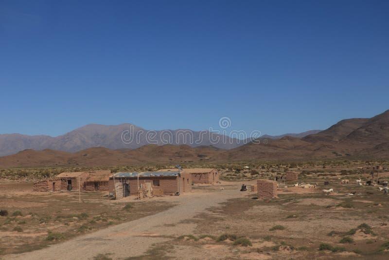 Quebrada Argentinië stock foto