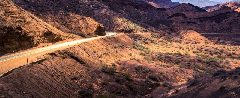 Quebrada de Cafayate, province de Salta, Argentine photographie stock