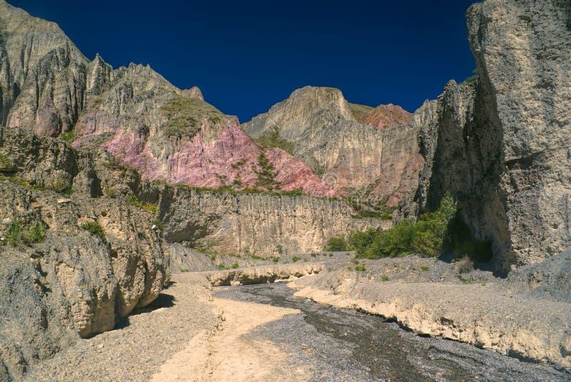 Quebrada de Humahuaca royaltyfri foto