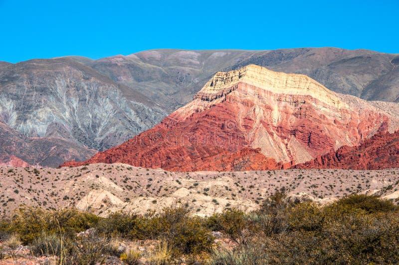 Quebrada de Humahuaca, Argentina arkivfoto
