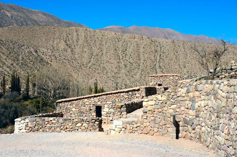 Quebrada de Humahuaca, la Argentina fotos de archivo