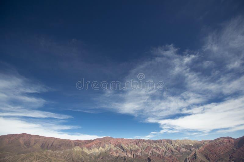 Quebrada de Humahuaca, nordliga Argentina fotografering för bildbyråer