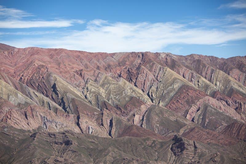 Quebrada de Humahuaca, nordliga Argentina royaltyfri fotografi