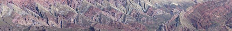 Quebrada de Humahuaca, nordliga Argentina royaltyfria bilder