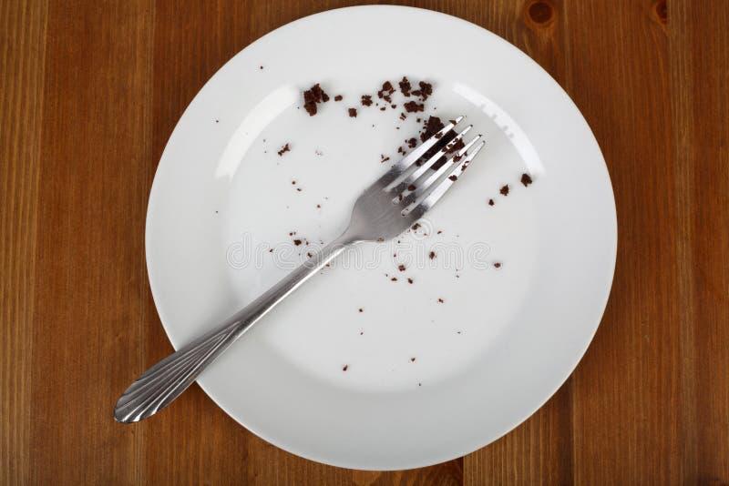 Quebrando a dieta imagens de stock