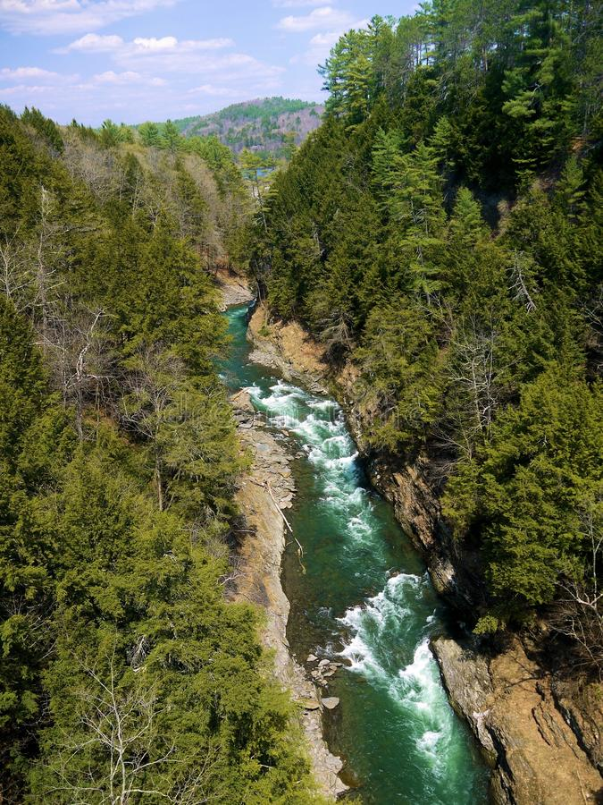 Quechee Gorge royalty free stock photos