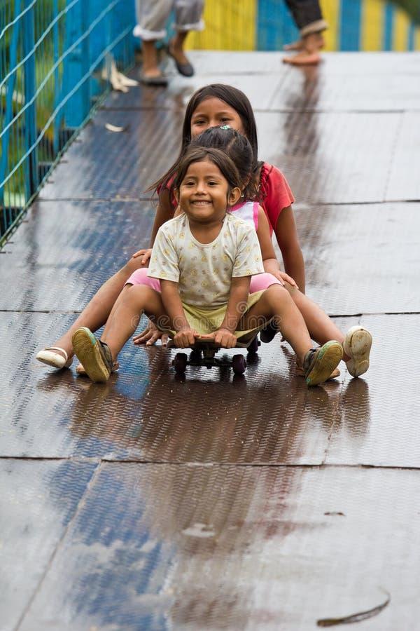 Download Quechua Girl Friends Having Fun. Editorial Photography - Image: 26348307