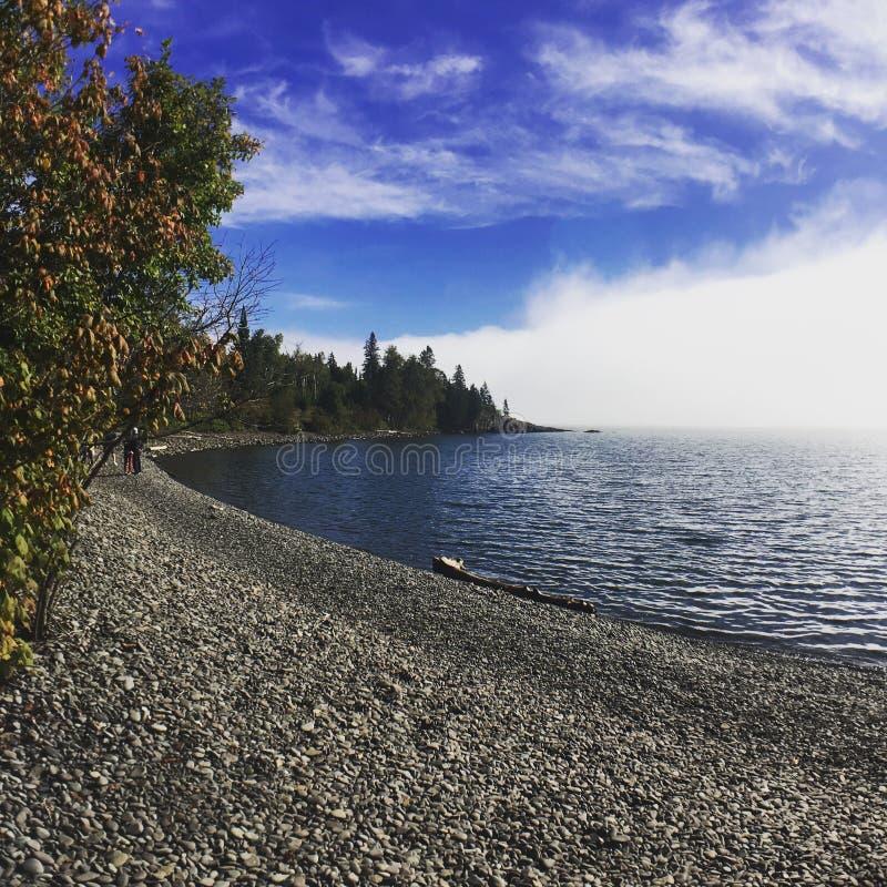 Queda no Lago Superior fotografia de stock royalty free
