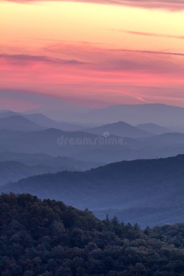 Queda no parque nacional de Great Smoky Mountains fotos de stock royalty free