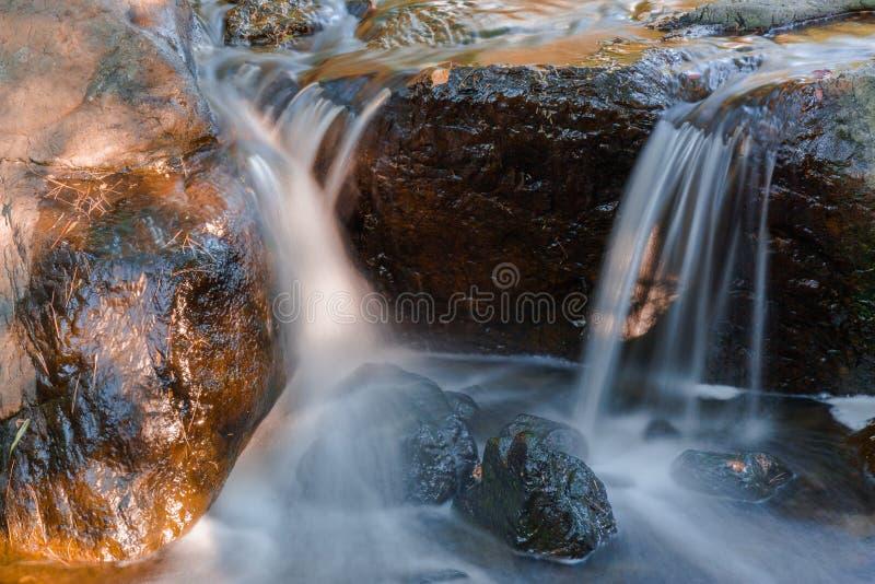Quedas da água imagem de stock