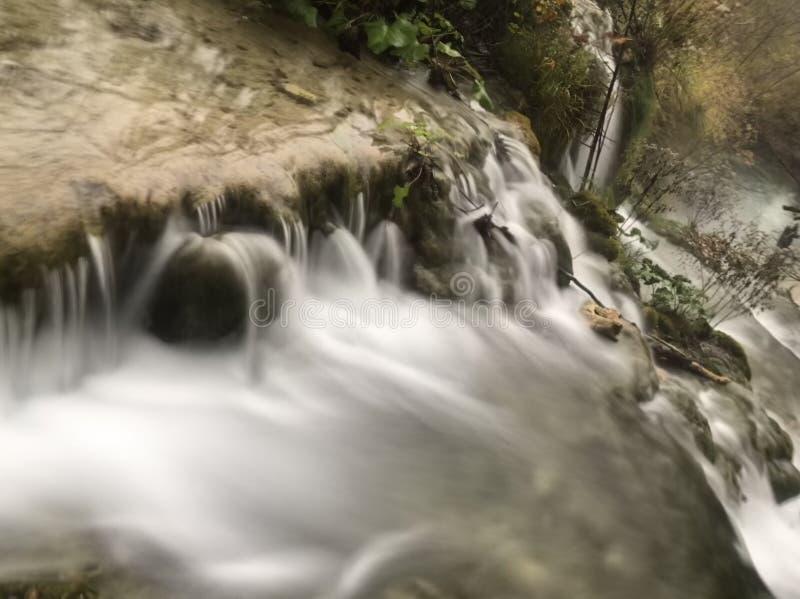 Quedas da água imagens de stock royalty free
