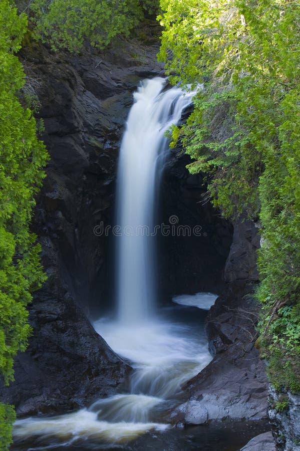 Quedas da cascata fotos de stock royalty free