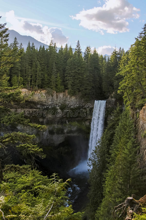 Quedas de Brandywine, BC fotografia de stock royalty free