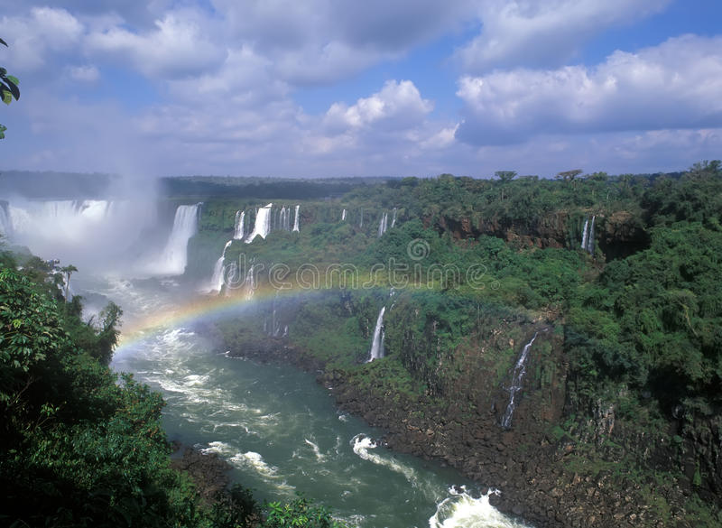 Quedas de Iguacu imagem de stock royalty free