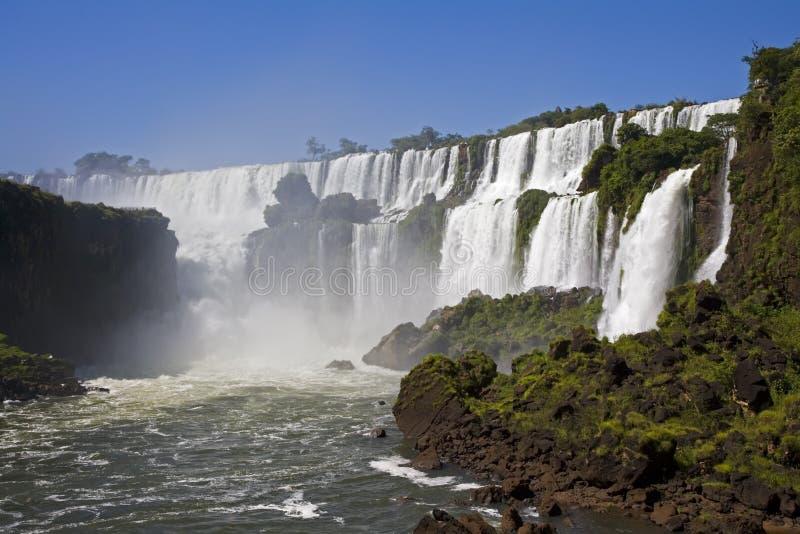 Quedas de Iguassu foto de stock royalty free
