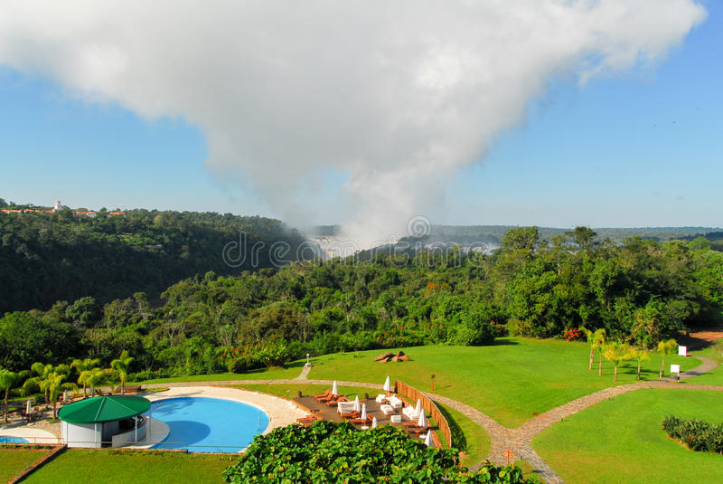 Quedas de Iguassu - Argentina foto de stock