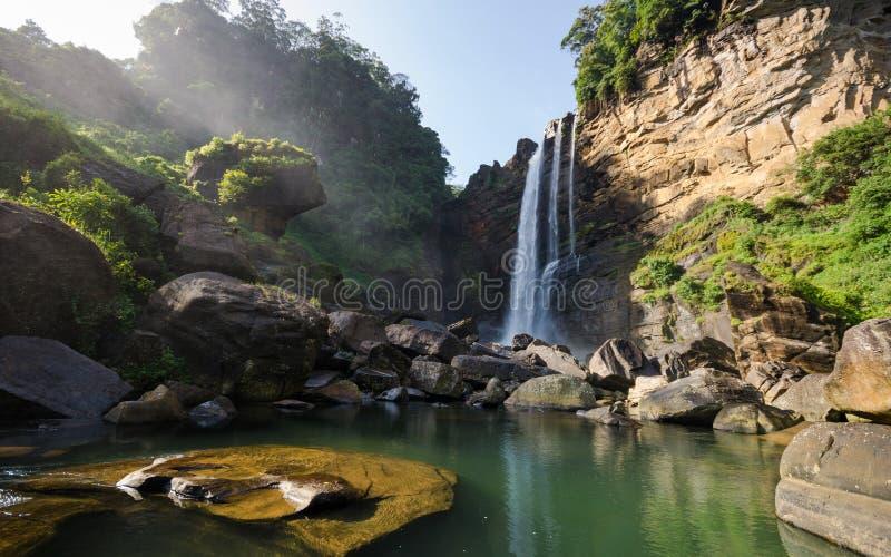 Quedas de Lakshapana imagens de stock royalty free