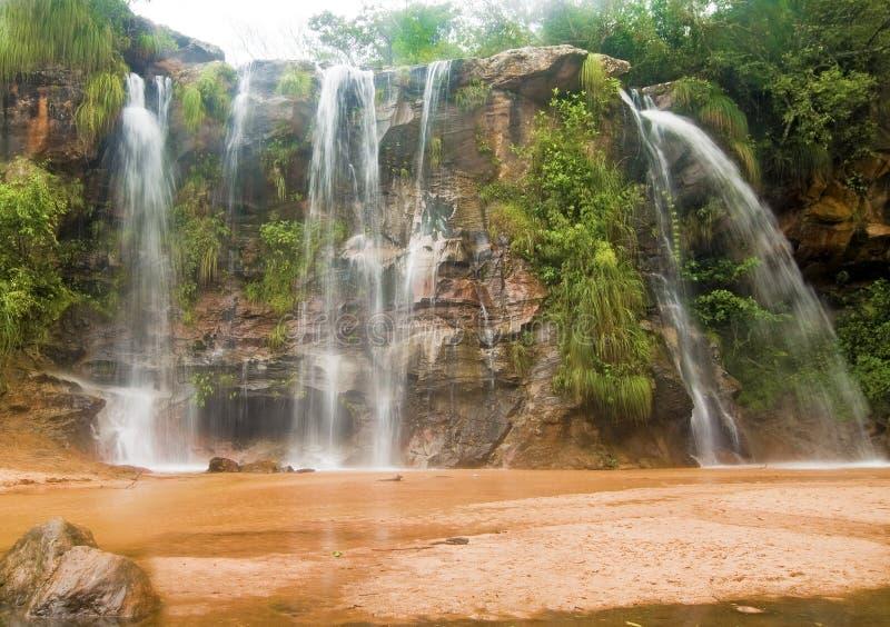 Quedas de Las Cuevas, Bolívia imagem de stock royalty free