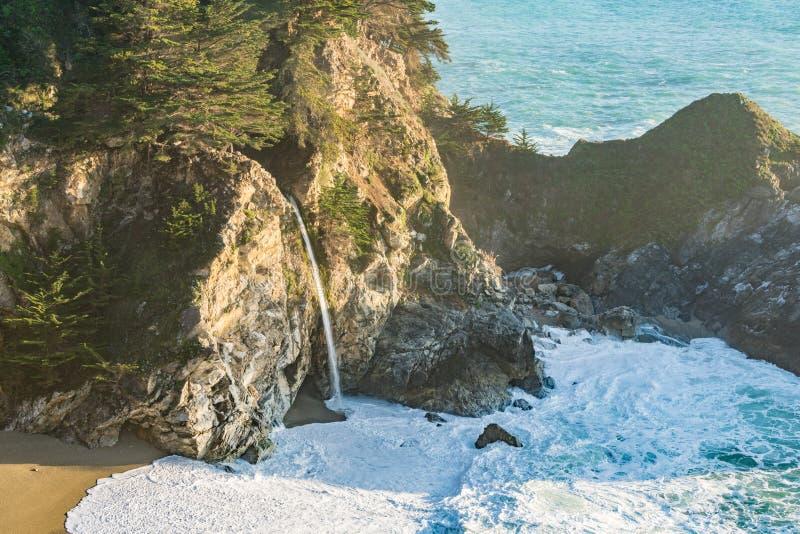Quedas de McWay, Califórnia fotografia de stock