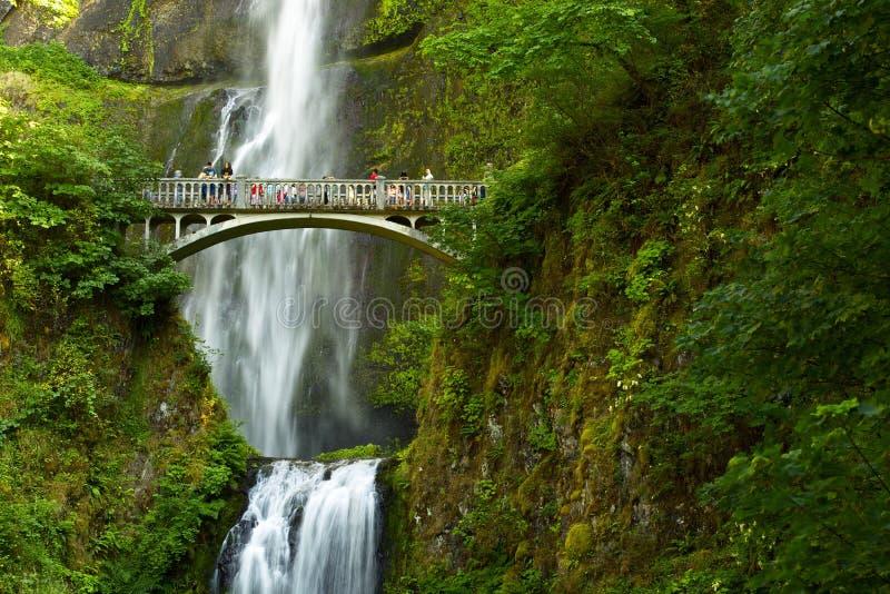 Quedas de Oregon Multnomah foto de stock royalty free