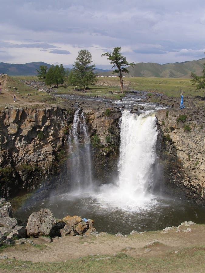 Quedas de Orkhon, Mongolia imagem de stock