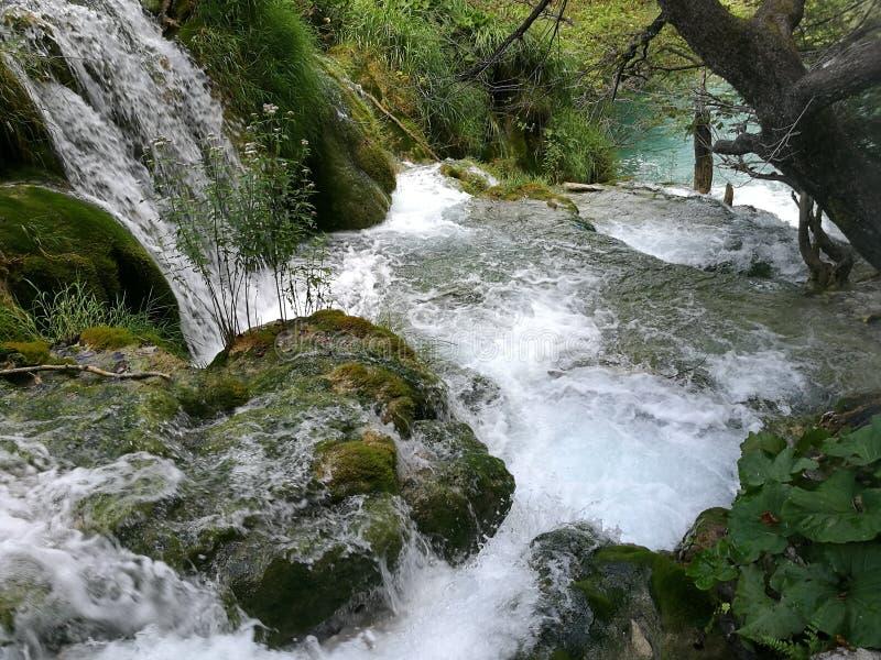 Quedas de Plitvice imagens de stock royalty free