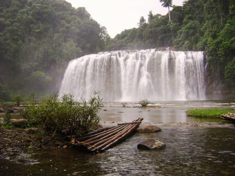 Quedas de Tinuy-an, Bislig, Surigao del Sur Filipinas imagens de stock royalty free