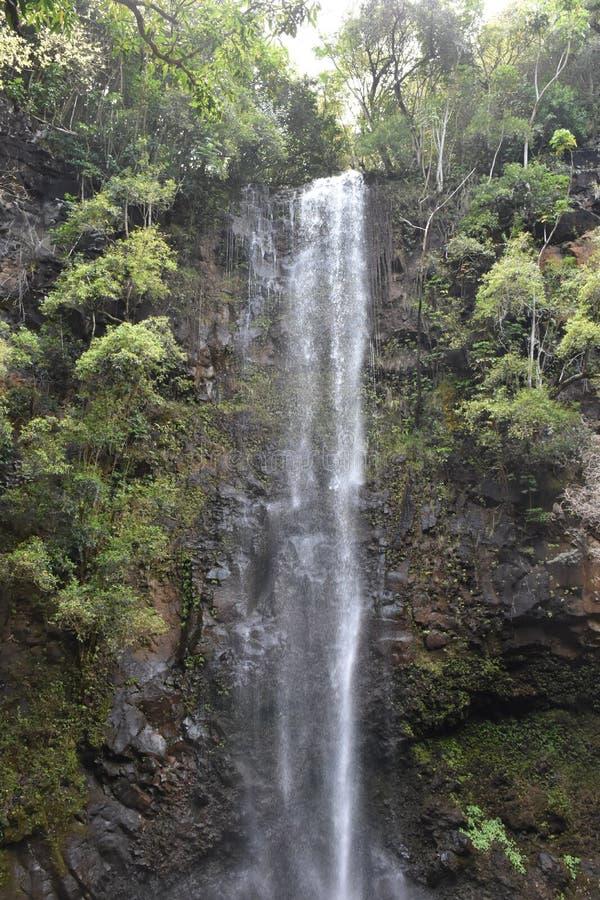 Quedas sagrados em Kauai, Hava? fotos de stock royalty free