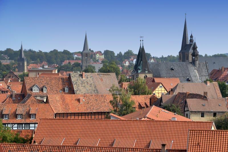 Quedlinburg imagen de archivo