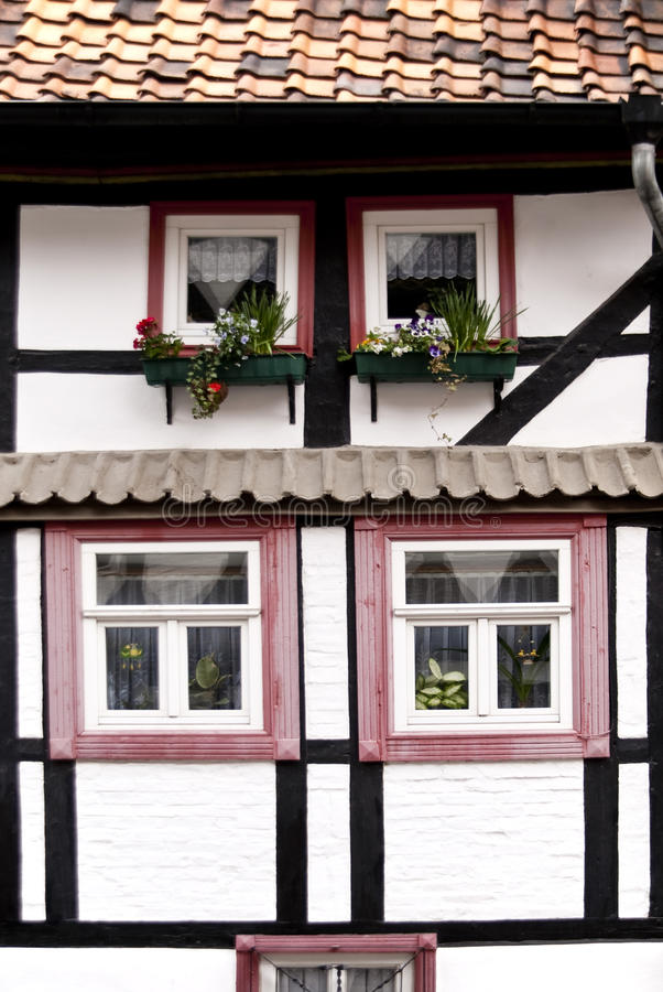 Quedlinburg immagine stock